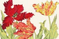Tulip Blooms Counted Cross Stitch Kit